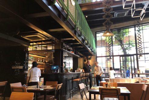 Thi công hoàn thị trọn gói Nhà hàng Belgo Quận 3