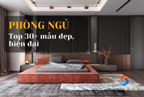 Top 30+ Mẫu phòng ngủ đẹp hiện đại nhất năm 2021