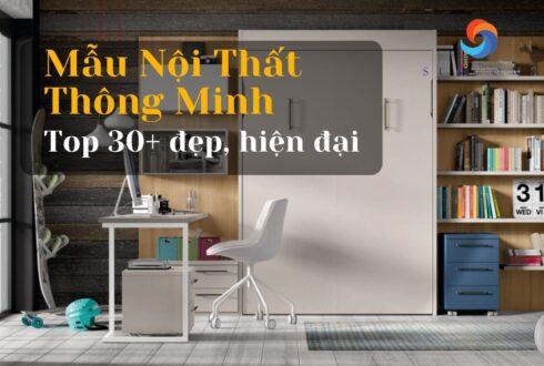 Top 30+ Mẫu nội thất thông minh đẹp hiện đại nhất năm 2021