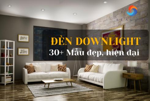 Top 30+ Mẫu đèn downlight đẹp hiện đại nhất năm 2021