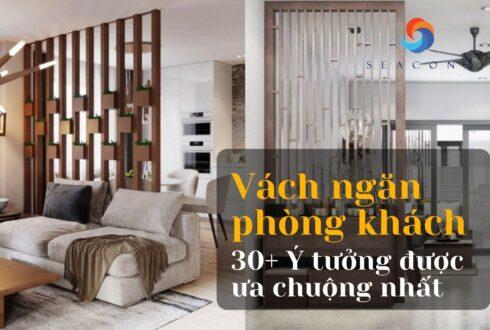 Vách ngăn phòng khách: Top 30+ ý tưởng được ưa chuộng nhất 2021