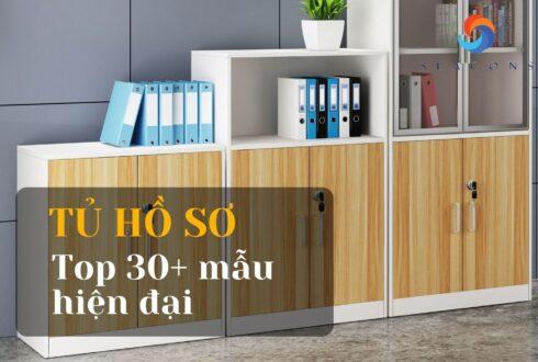 Tủ hồ sơ đẹp: Top 30+ mẫu tiện dụng cho văn phòng công ty